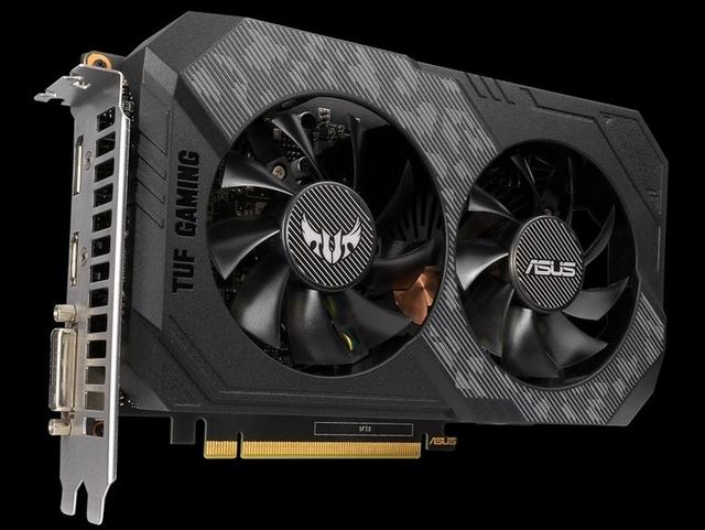 ASUS готовит множество моделей видеокарты GeForce GTX 1650 Ti