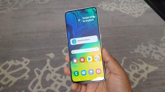 Samsung представила полноэкранный Galaxy A80 с поворотной камерой и быстрой зарядкой