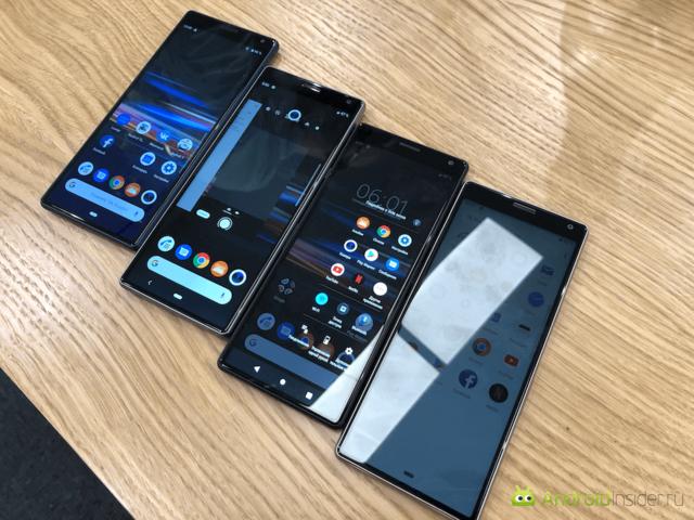 Сразу четыре новинки от Sony на MWC 2019