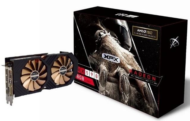 XFX подготовила видеокарту Radeon RX 590 AMD 50th Anniversary Edition к юбилею AMD
