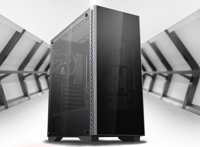 Элегантный корпус Deepcool Matrexx 50 получил две стеклянные панели