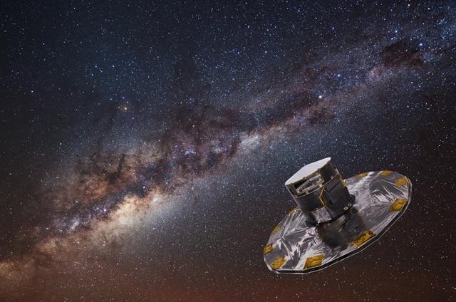 Обзорный телескоп ESO VST помогает в создании самой точной в истории звёздной карты