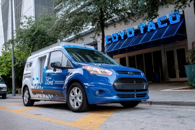 К концу 2019 года у Ford будет парк из 100 самоуправляемых автомобилей