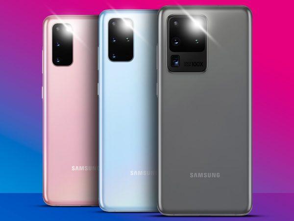 Samsung Galaxy S20 - сочетание ультраэлегантного стиля и мощности